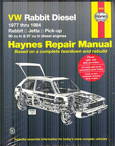 9780856969935: VW Rabbit Diesel 1977 thru 1984 (Haynes Manuals)