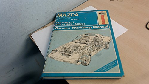9780856969980: Mazda RX7 Rotary 1979-83 Owner's Workshop Manual