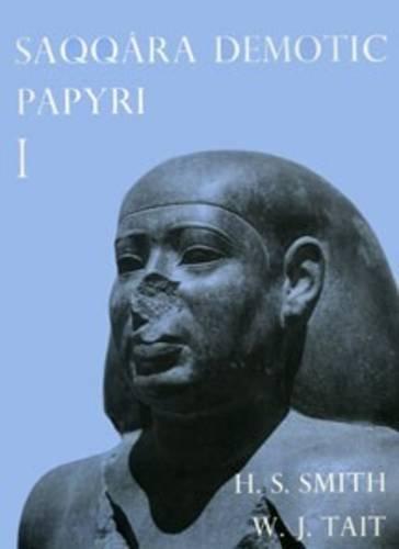 9780856980848: Saqqara Demotic Papyri I (P. Dem. Saq. I) (Texts from Excavations,)
