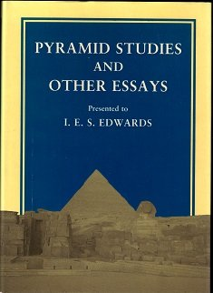 9780856981067: Pyramid Studies and Other Essays Presented to I. E. S. Edwards (Occasional Publications)