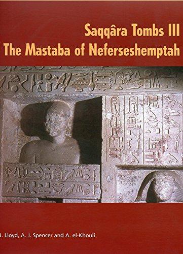 9780856981685: Saqqara Tombs III: The Mastaba of Neferseshemptah