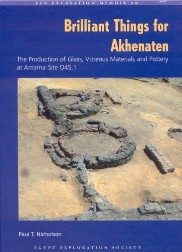 9780856981784: Brilliant Things for Akhenaten: The Production of Glass, Vitreous Materials and Pottery at Amarna Site 0.45.1 (Excavation Memoirs)