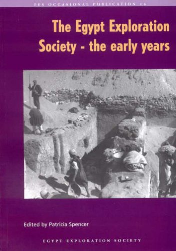9780856981852: The Egypt Exploration Society - the early years (Occasional Publication)