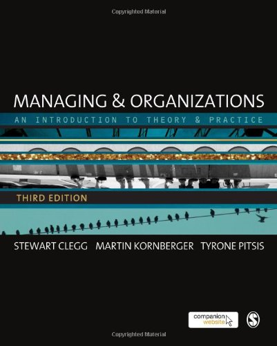 9780857020406: Managing and Organizations: An Introduction to Theory and Practice