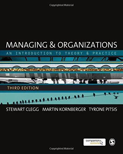 9780857020413: Managing and Organizations: An Introduction to Theory and Practice