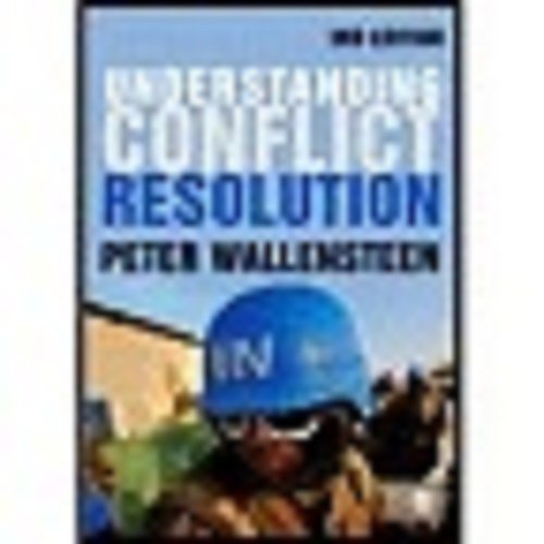 9780857020499: Understanding Conflict Resolution: War, Peace and the Global System