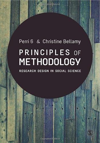 9780857024749: Principles of Methodology: Research Design in Social Science