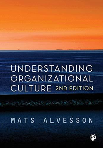 9780857025586: Understanding Organizational Culture