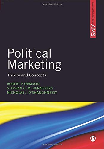 9780857025814: Political Marketing: Theory and Concepts