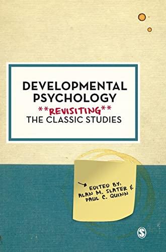 9780857027573: Developmental Psychology: Revisiting the Classic Studies