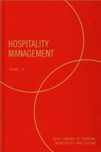 Hospitality Management (4Vol Set)