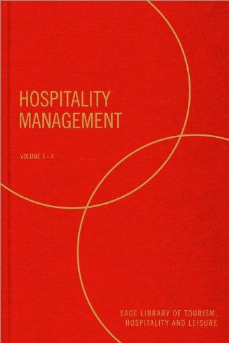 9780857027764: Hospitality Management (SAGE Library of Tourism, Hospitality & Leisure)
