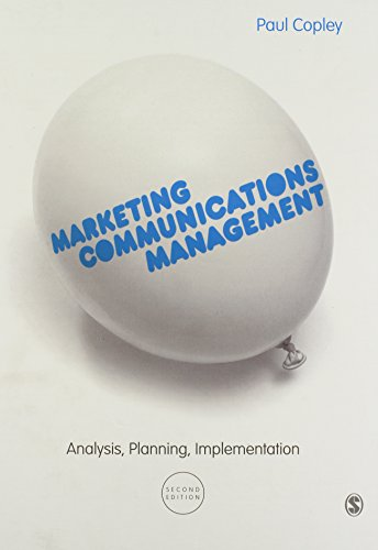 9780857027863: Marketing Communications Management: Analysis, Planning, Implementation