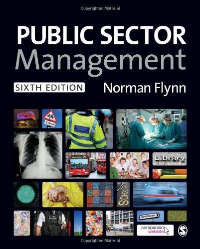 9780857028730: Public Sector Management
