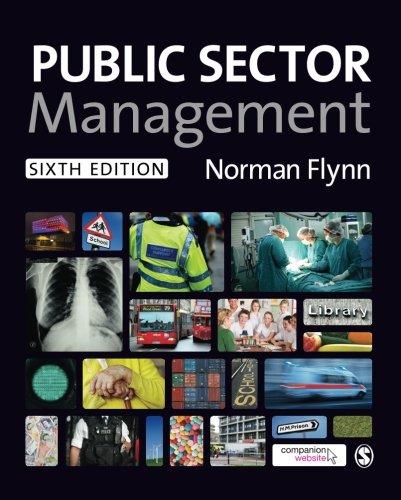 9780857028747: Public Sector Management