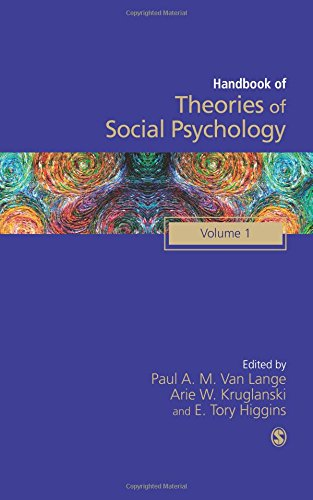 9780857029607: 1: Handbook of Theories of Social Psychology: Volume One (SAGE Social Psychology Program)