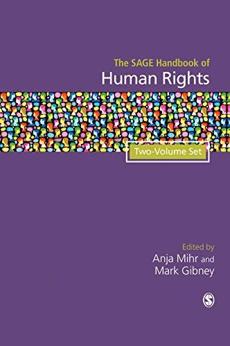 9780857029935: The SAGE Handbook of Human Rights: Two Volume Set