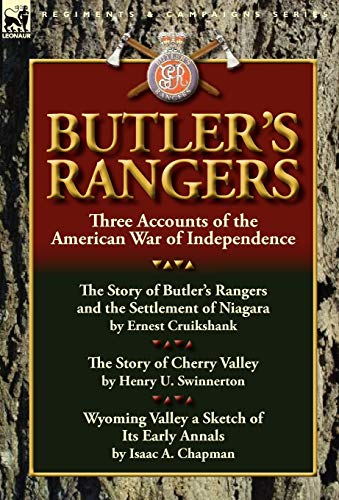 9780857067111: Butler's Rangers: Three Accounts of the American War of Independence