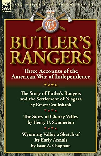 9780857067128: Butler's Rangers: Three Accounts of the American War of Independence