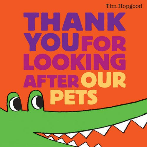 9780857071149: Thank You for Looking After Our Pets