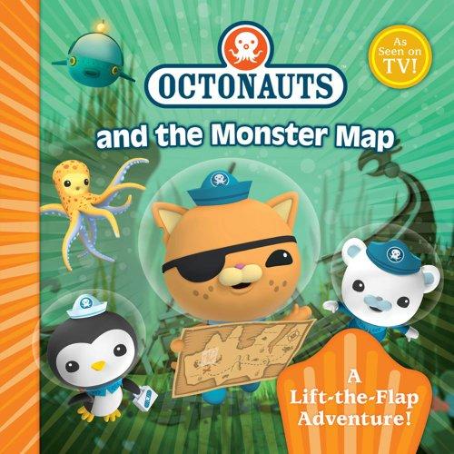 9780857072399: Octonauts Monster Map.