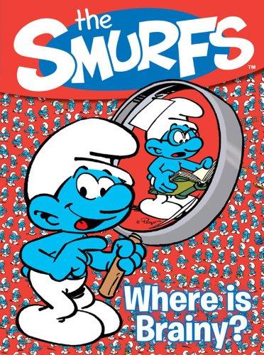 9780857073815: Smurfs Hide & Seek: Where Is Brainy?.