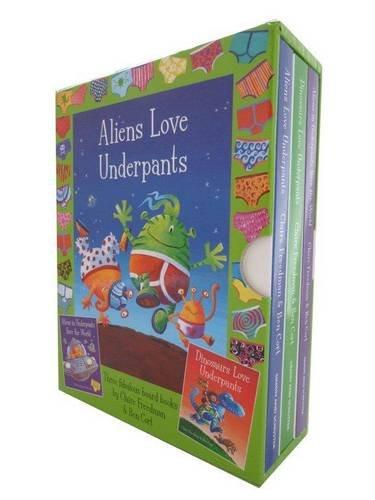 9780857075017: Aliens & Dinos in Underpants Board Book Slipcase