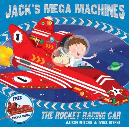9780857075673: Jack's Mega Machines: The Rocket Racing Car