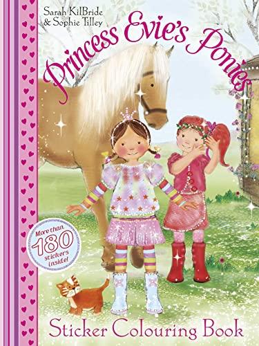 9780857076281: Princess Evie Sticker Colouring Book