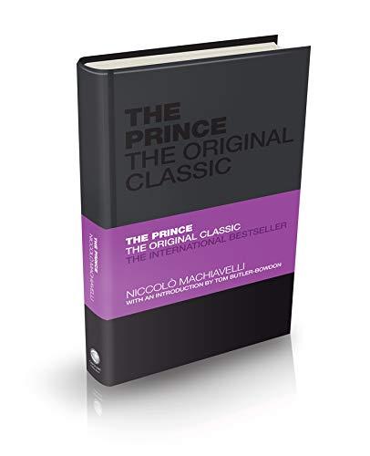 9780857080783: The Prince: The Original Classic (Capstone Classics)