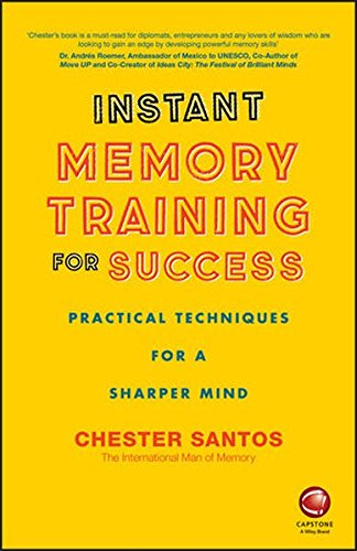 9780857087065: Instant Memory Training For Success - Practical Techniques for a sharper mind