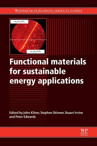 9780857090591: Functional Materials for Sustainable Energy Applications (Woodhead Publishing Series in Energy)