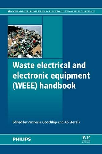 9780857090898: Waste Electrical and Electronic Equipment (WEEE) Handbook (Woodhead Publishing Series in Electronic and Optical Materials)