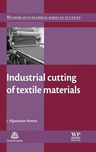 Industrial Cutting of Textile Materials (Hardback): Ineta Vilumsone-Nemes