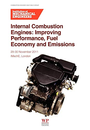 9780857092052: Internal Combustion Engines: Improving Performance, Fuel Economy and Emissions