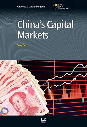 9780857092144: China's Capital Markets (Chandos Asian Studies)