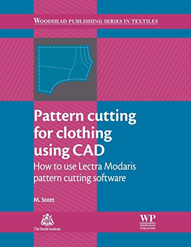 9780857092311: Pattern Cutting for Clothing Using CAD: How to Use Lectra Modaris Pattern Cutting Software