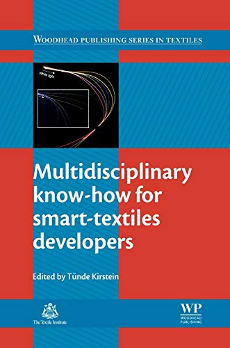 9780857093424: Multidisciplinary Know-How for Smart-Textiles Developers (Woodhead Publishing Series in Textiles)