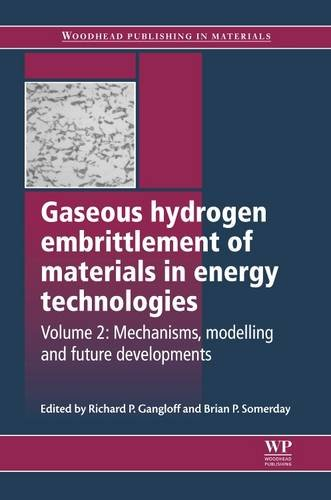 9780857095367: Gaseous Hydrogen Embrittlement of Materials in Energy Technologies: Mechanisms, Modelling and Future Developments (Woodhead Publishing Series in Metals and Surface Engineering)