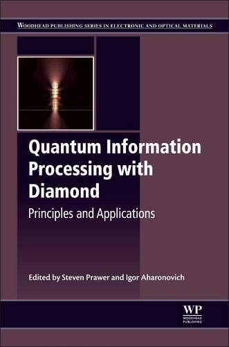 9780857096562: Quantum Information Processing with Diamond: Principles and Applications (Woodhead Publishing Series in Electronic and Optical Materials)