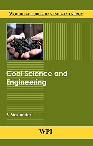 9780857098139: Coal Science and Engineering (Woodhead Publishing India)
