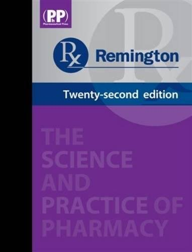 9780857110626: Remington: The Science and Practice of Pharmacy (2 Volumes)