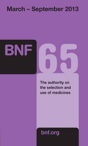 9780857110848: British National Formulary: 65