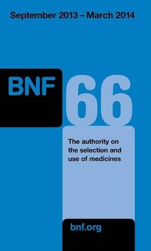 9780857110855: British National Formulary (Bnf 66): September 2013 to March 2014