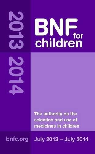 9780857110879: BNF for Children (BNFC) 2013-2014
