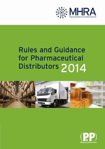 9780857111036: Rules and Guidance for Pharmaceutical Distributors