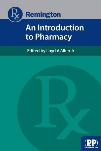 9780857111043: Remington: An Introduction to Pharmacy (Remington Education)