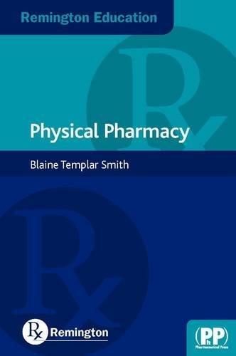 9780857111067: Remington Education: Physical Pharmacy