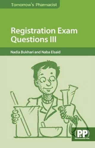 9780857111234: Registration Exam Questions III (Tomorrow's Pharmacist)