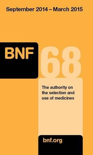 9780857111388: British National Formulary (BNF) 68